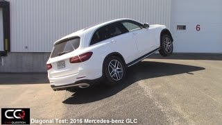 4Matic/AWD Test: 2016/2017 Mercedes-Benz GLC Diagonal test  / THE Most Complete review! / Part 6/8