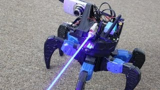 FPS in Real Life!! Homemade Laser Gun FPV Drone Bot!!!