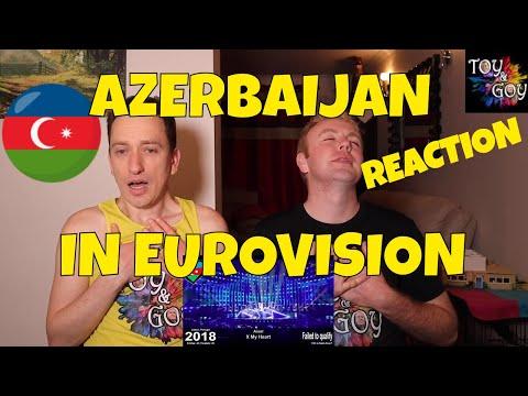 EUROVISION AZERBAIJAN ALL SONGS REACTION