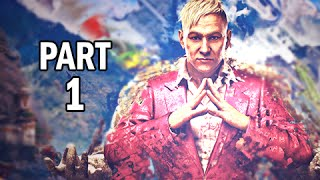 Far Cry 4 Walkthrough Part 1 - Pagan Min the King of Kyrat (PS4 Gameplay Commentary)