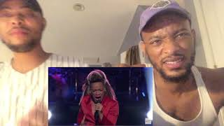 """SandyRedd  Astounds with Ariana Grande's """"Dangerous Woman"""" - The Voice 2018 Knockouts (REACTION)"""