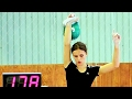 Ksenia Dedyukhina makes 178 reps in snatch with the 24 kg kettlebell (2012)