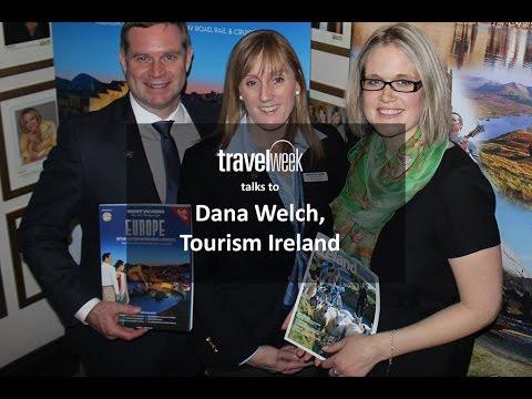 Dana Welsh from Tourism Ireland talks 2016