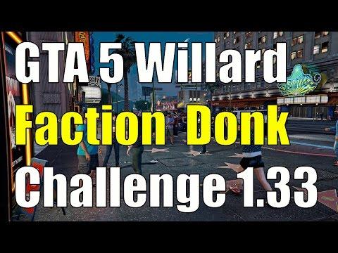 GTA 5 Online Willard Faction Donk Swimming Pool Challenge 1.33