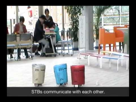 Sociable Trash Box Robot, ICD Lab, Toyohashi University of Technology, JAPAN