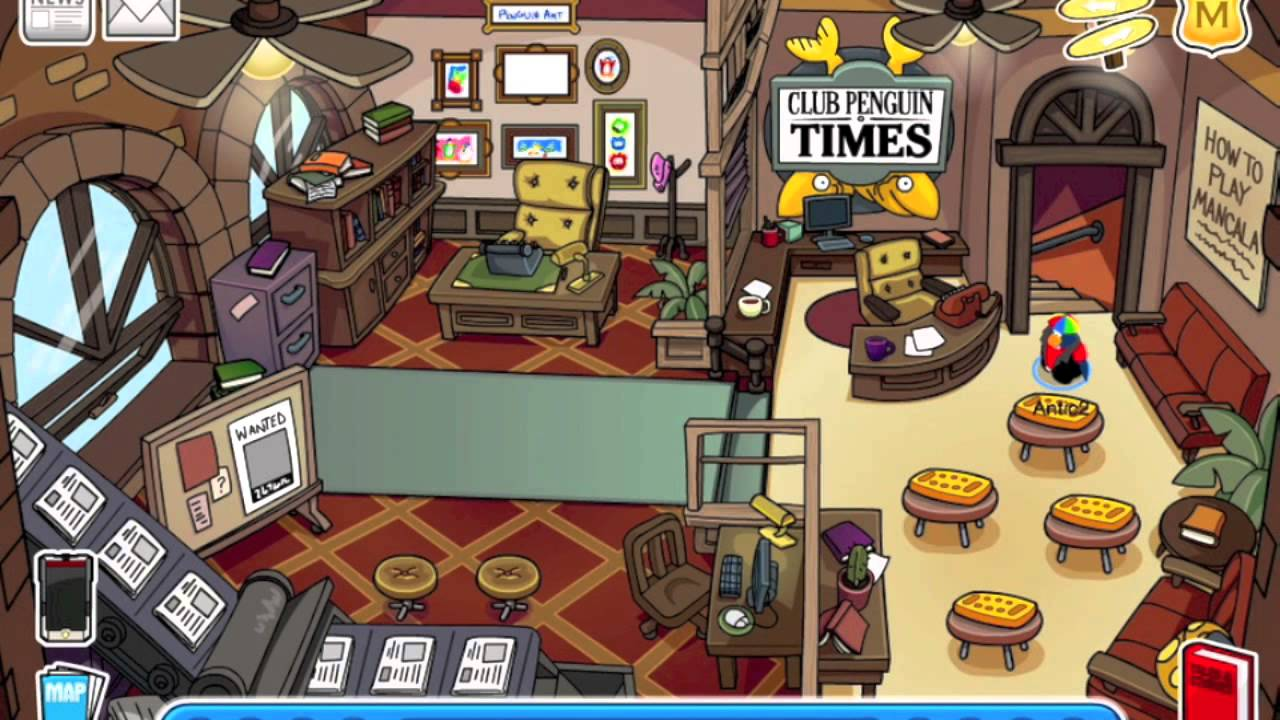 Club Penguin Secret Rooms