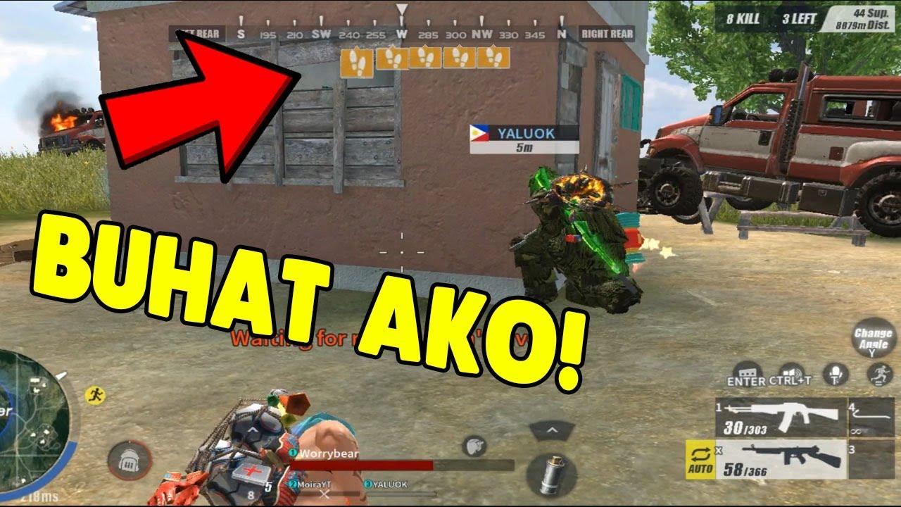 BINUHAT AKO NI YALU_OK!   [TAGALOG] (Rules of Survival: Battle Royale)