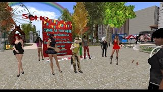London City in Second Life - Come as you were