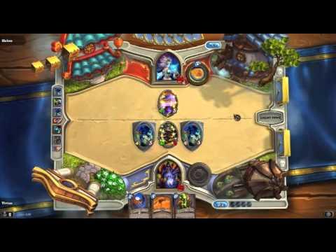 Hearthstone Warlock Void Terror Deck Test