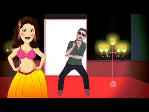 O Laila Teri - Animated Music Video (featuring Sunny Leone) video