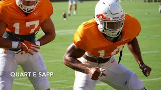 Tennessee Fall Practice -- August 21st