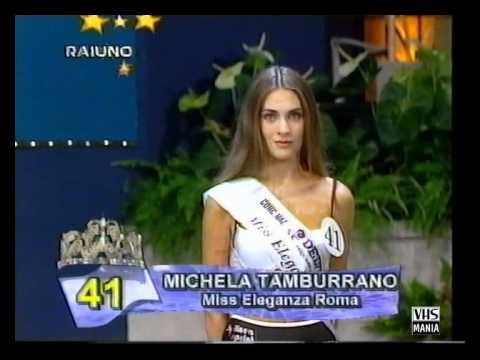 Miss Italia 1995 – Presentazione delle 77 finaliste