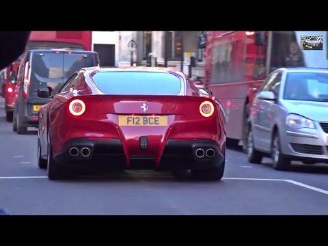 BERNIE ECCLESTONE in Ferrari F12!