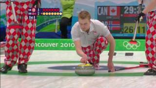 Men's Curling Full Gold Medal Match - CAN v NOR  - Vancouver 2010 Olympics