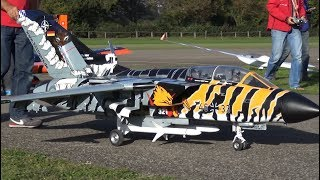 SCALE RC JET PANAVIA TORNADO ECR TURBINE MODELL WITH SWING-WINGS