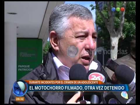 Motochorro filmado, otra vez detenido - Telefe Noticias