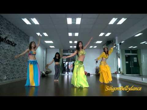 Nancy Ajram, Belly dance Ms. Sen, SaigonBellydance