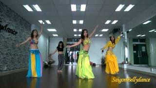 Nancy Ajram, Belly dance Ms. Sen, SaigonBellydance