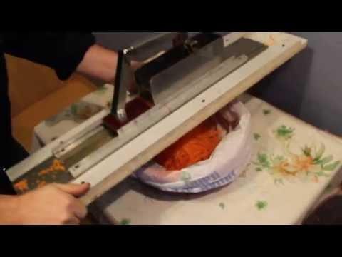 Шинковка для моркови по корейски своими руками