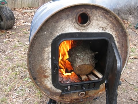 Vogelzang Barrel Stove Kit