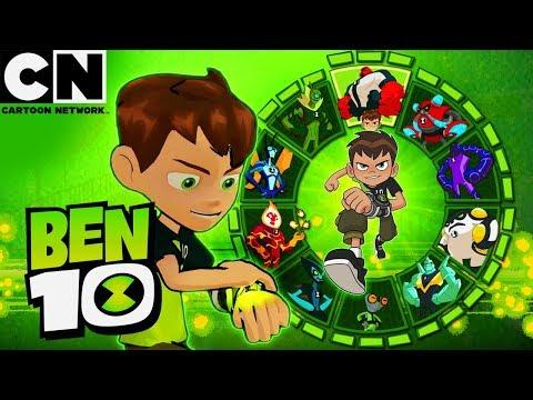 Ben 10 All Alien Transformations Ultimates Cartoon Network Ben 10
