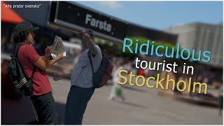 KH SHOW - Ridiculous Tourist In Stockholm Prank!!