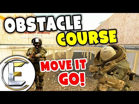 Military Obstacle Course - Military RP Life EP4 (General Gets Sniped Have A Lot Of Arguments) thumbnail