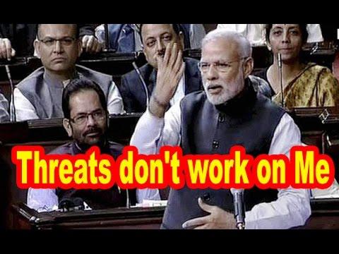 Angry Narendra Modi to Rahul Gandhi: Threats don't work on Me