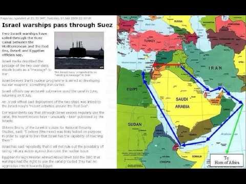 Jul/14/09 Israel warships pass through Suez