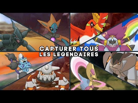Tous Les Pokemon Legendaires : Guide Rubis OmÉga Saphir Alpha video