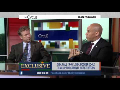 MSNBC Attacks Rand Paul During Segment With Cory Booker For Criminal Justice Reform