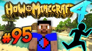 THE RACE EVENT! - HOW TO MINECRAFT S4 #95ewa