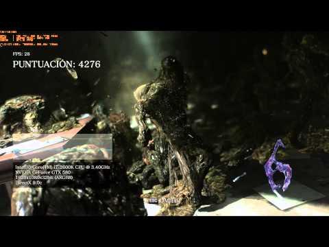 RE6 , Resident Evil 6 Benchmarking , Edición PC: