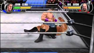wwe all stars john cena vs big show ppsspp pc gameplay 2016