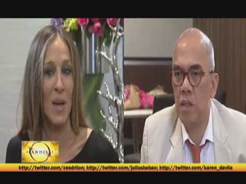 Boy Abunda chats with Sarah Jessica Parker