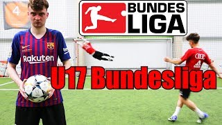 FUSSBALL CHALLENGE VS. U17 Bundesliga Spieler | ViscaBarca