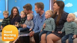 Identical Twin Brothers on Having Three Sets of Twin Sons Between Them | Good Morning Britain