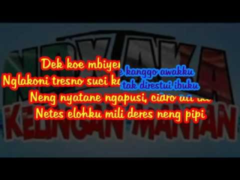 download lagu NDX A.K.A Kelingan Mantan - gratis