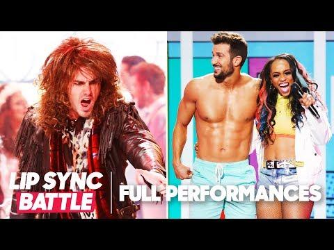 "Ben Higgins's ""You Give Love a Bad Name"" vs. Rachel Lindsay's ""Sorry Not Sorry"" | Lip Sync Battle"