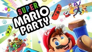 SUPER MARIO PARTY NINTENDO SWITCH GAMEPLAY O INICIO