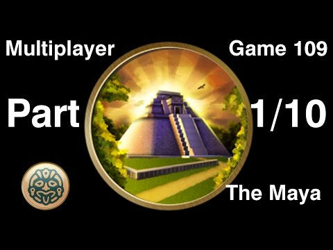 Civilization 5 Multiplayer 109: Maya [1/10] ( BNW 5 Player Free For All) Gameplay/Commentary