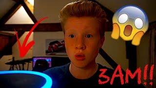 *DO NOT* SPEAK TO ALEXA AT 3AM!!😱SO SCARY!!