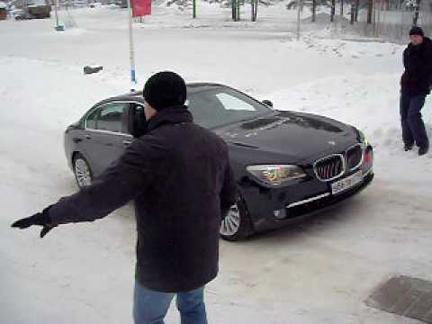 BMW 750Li xDrive Ice Hill Climb Video