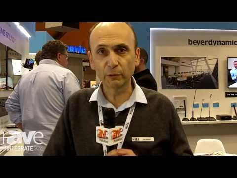 Integrate 2016: WolfVision Demos Cynap Presentation and Collaboration Device on the Hills AV Stand