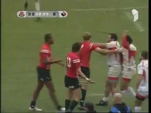 Rugby Fight (Georgia vs Canada)