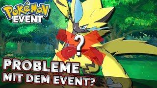 Scheinbar gibt es Probleme mit der Pokemon Zeraora Verteilung...