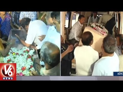 Kansas Shooting: Sharath Koppu Body Reaches Warangal | V6 News