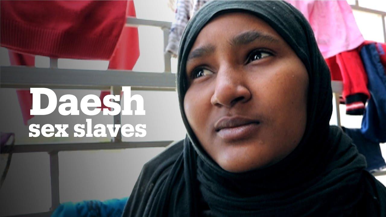 Sex slaves under Daesh rule