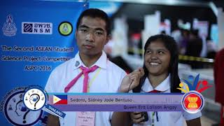Asean Student Science Project 2016