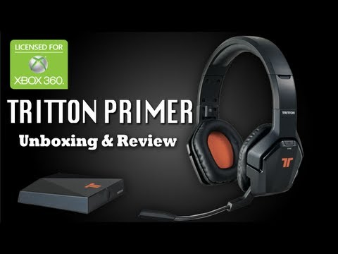 Tritton Primer Unxboxing & Review - XBOX 360 5.8GHz Wireless Headset